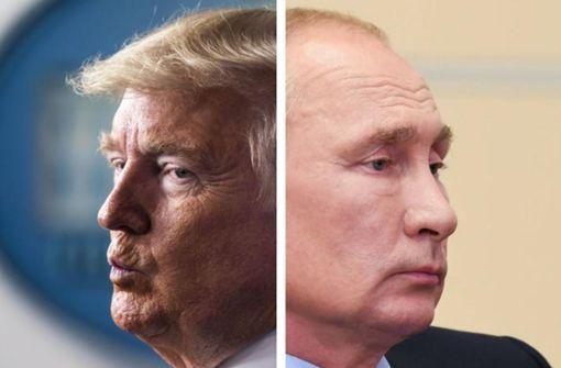 """""""Doppelte Spur"""" führt zu Trump und Putin"""