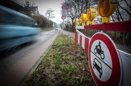 Hofener Straße bleibt gesperrt