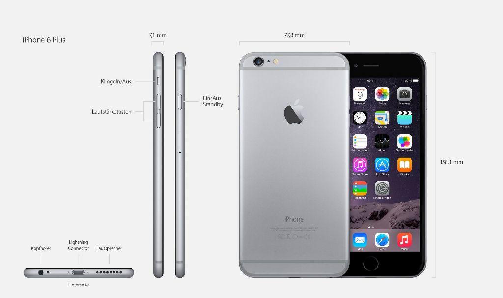 apple hat am dienstagabend zwei neue iphone modelle. Black Bedroom Furniture Sets. Home Design Ideas