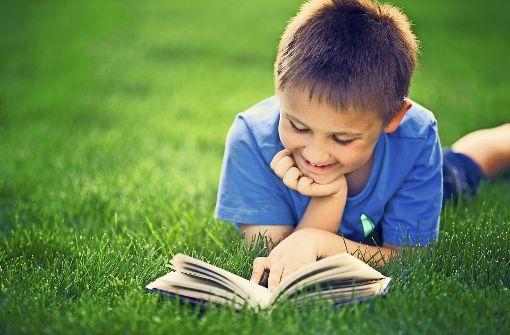 Kinder lesen gerne