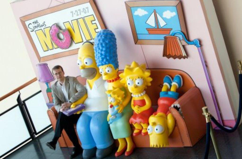 Bald geschiedene Leute: Homer und Marge Simpson Foto: dpa