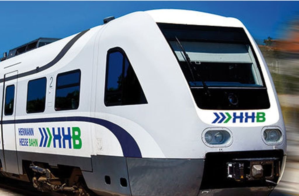 Über die geplante Hermann-Hesse-Bahn wird derzeit heftig gestritten. Foto: Landkreis Calw