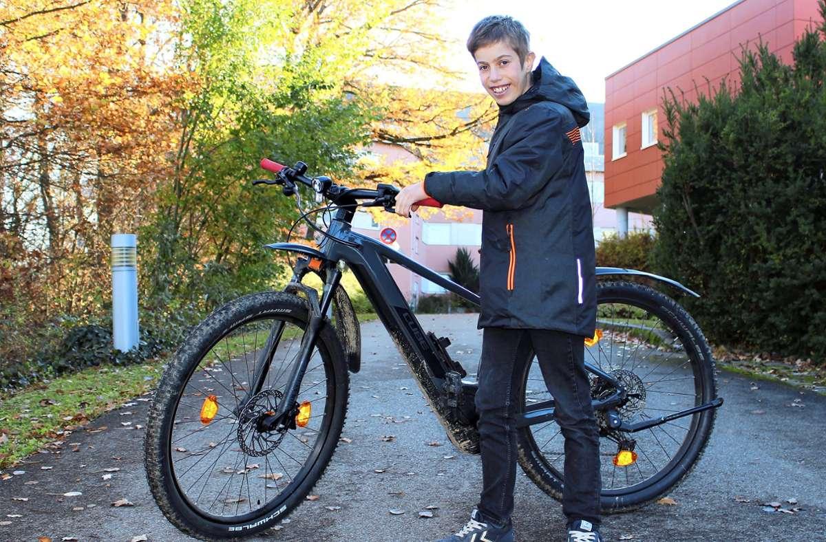 Eigentlich wollte Felix Weinmann sein neues E-Bike live präsentieren, das macht er jetzt auf Facebook. Foto: Archiv Holowiecki