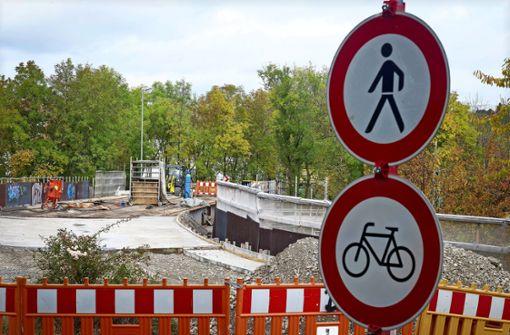 Brücke bleibt bis ins neue Jahr gesperrt