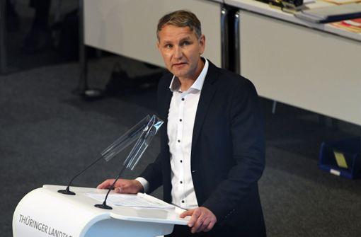"""""""Verrat"""": Höcke greift AfD-Chef Meuthen scharf an"""