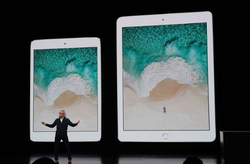 Apple stellt neue iPads und MacBooks vor