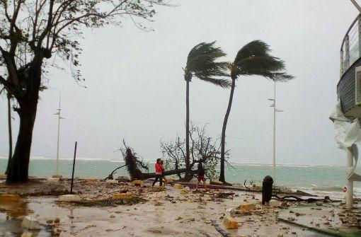 Ein Mensch auf Guadeloupe getötet
