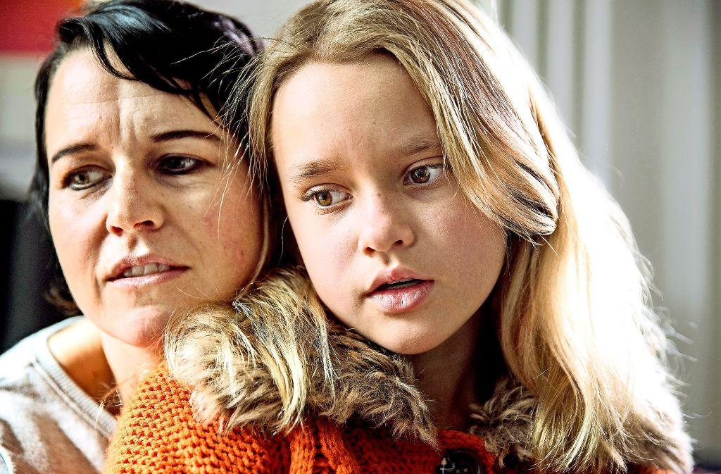 Tanja Meyer und ihre Tochter Amelie sind ein unzertrennliches Gespann. Foto: Horst Rudel