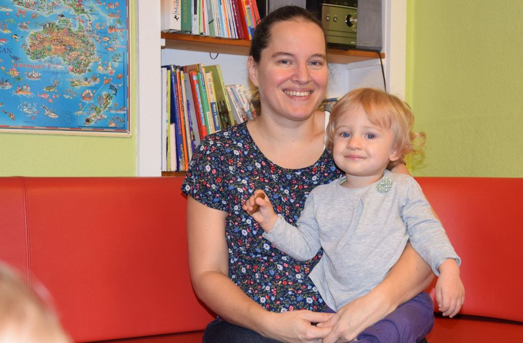 Sandra Köhler hat zwei Kinder: Sara (Foto) ist kerngesund, ihre große Tochter hat eine Behinderung. Foto: Alexandra Kratz