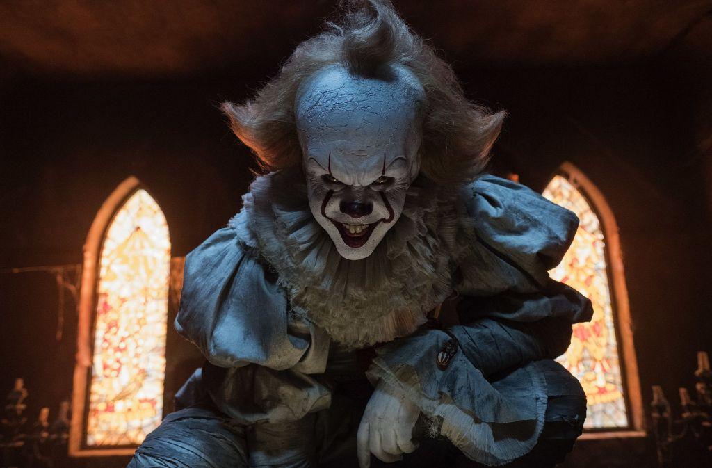 """Horror-Clowns – wie Pennywise aus Stephen Kings Roman """"Es"""" sowie den gleichnamigen Filmen von 1990 und 2016 – sind ein noch recht junger Halloween-Trend. Foto: dpa"""