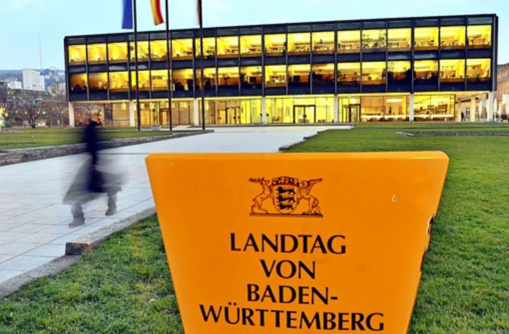 Das Gebäude des baden-württembergischen Landtags  ist sanierungsbedürftig. Foto: dpa