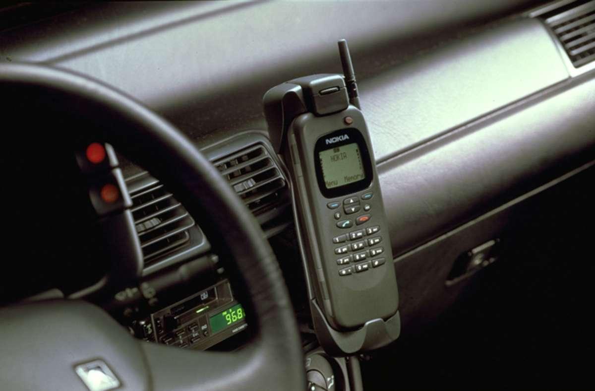"Das""Nokia Communicator 9000"" feiert seinen 25 Geburtstag. Foto: dpa"