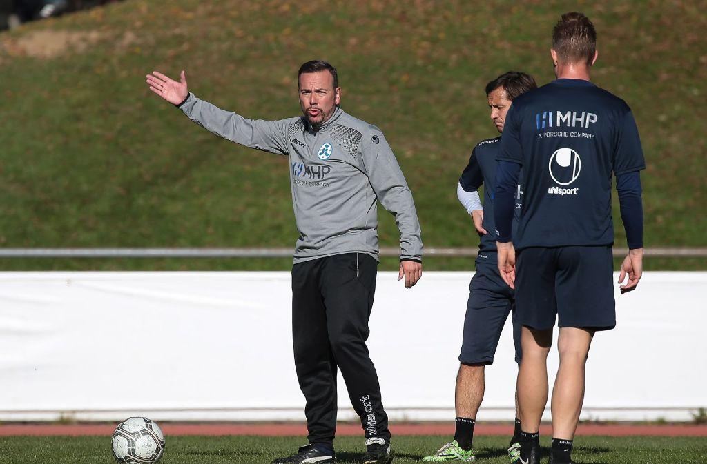 Paco Vaz (links) ist der neue Trainer der Stuttgarter Kickers. Foto: Pressefoto Baumann