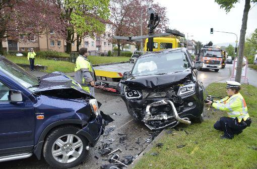 45-Jähriger verursacht betrunken mehrere Unfälle