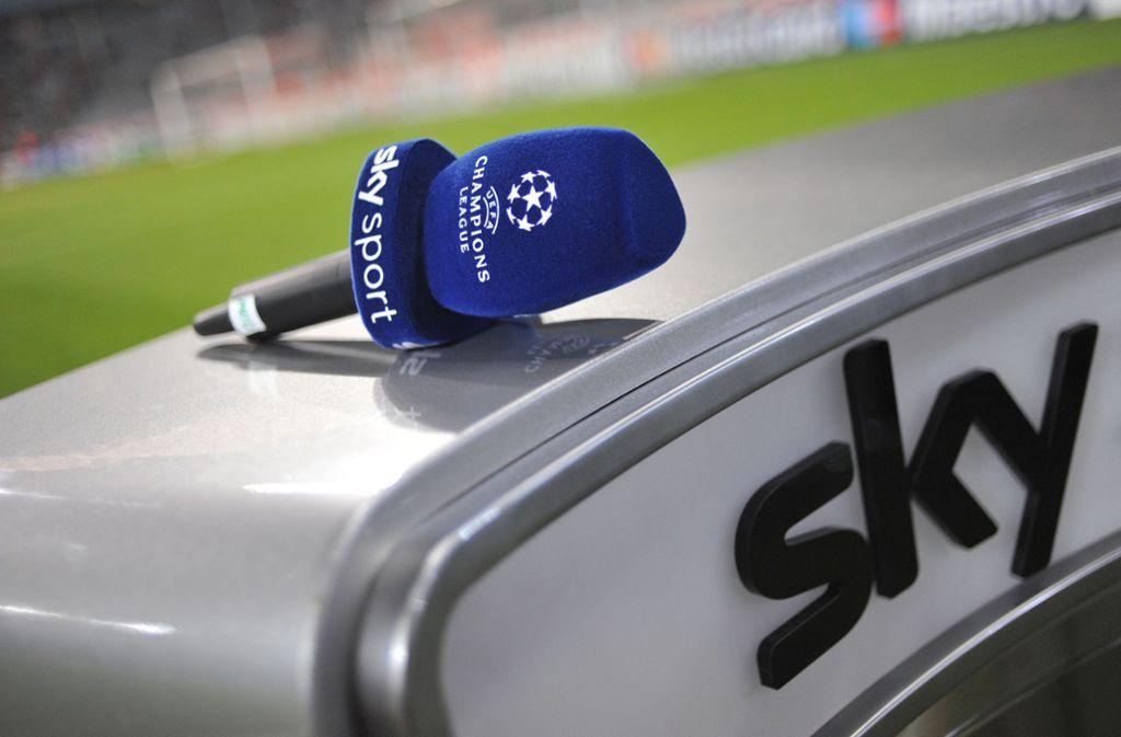 Die Champions League wird nur noch bis 2021 bei Sky zu sehen sein. Foto: dpa/Andreas Gebert