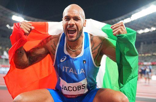 Bolt-Nachfolger: Italiener Jacobs sprintet zu Gold über die 100 Meter
