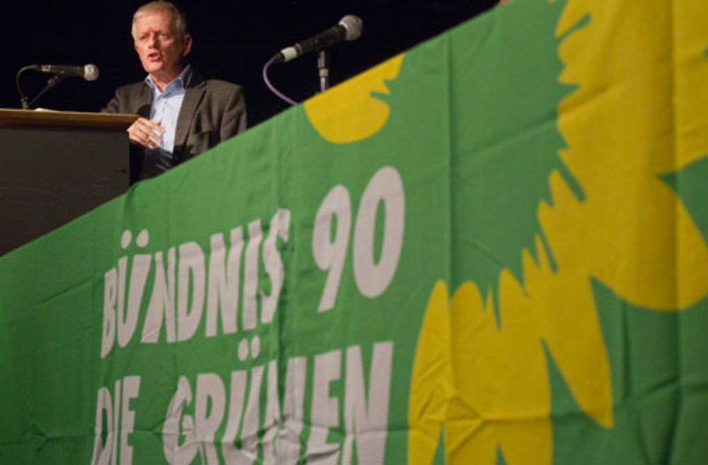 Fritz Kuhn kandidiert für die Grünen bei der OB-Wahl in Stuttgart. Foto: dapd