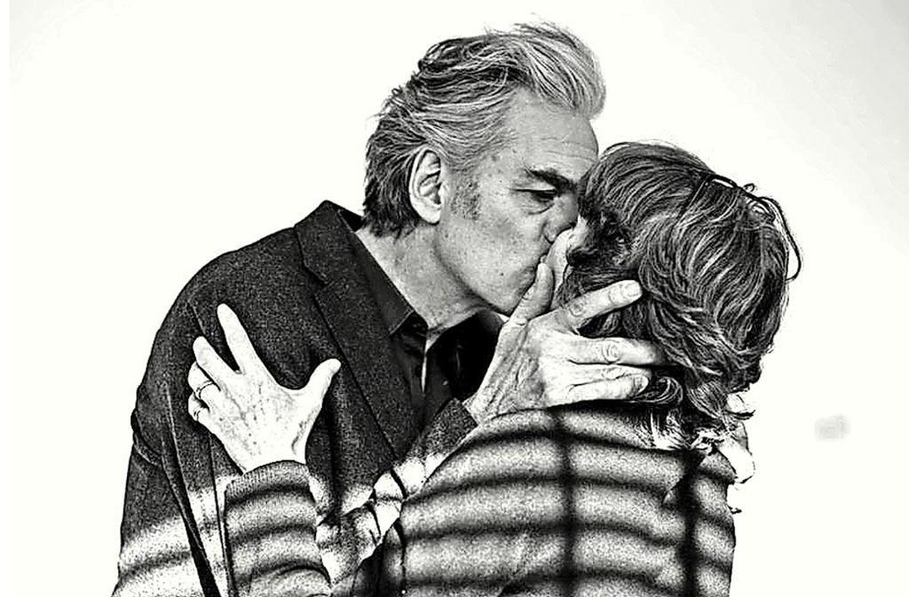 Filmemacherin Sigrid Klausmann und ihr Ehemann  Walter Sittler Foto: Screenshot