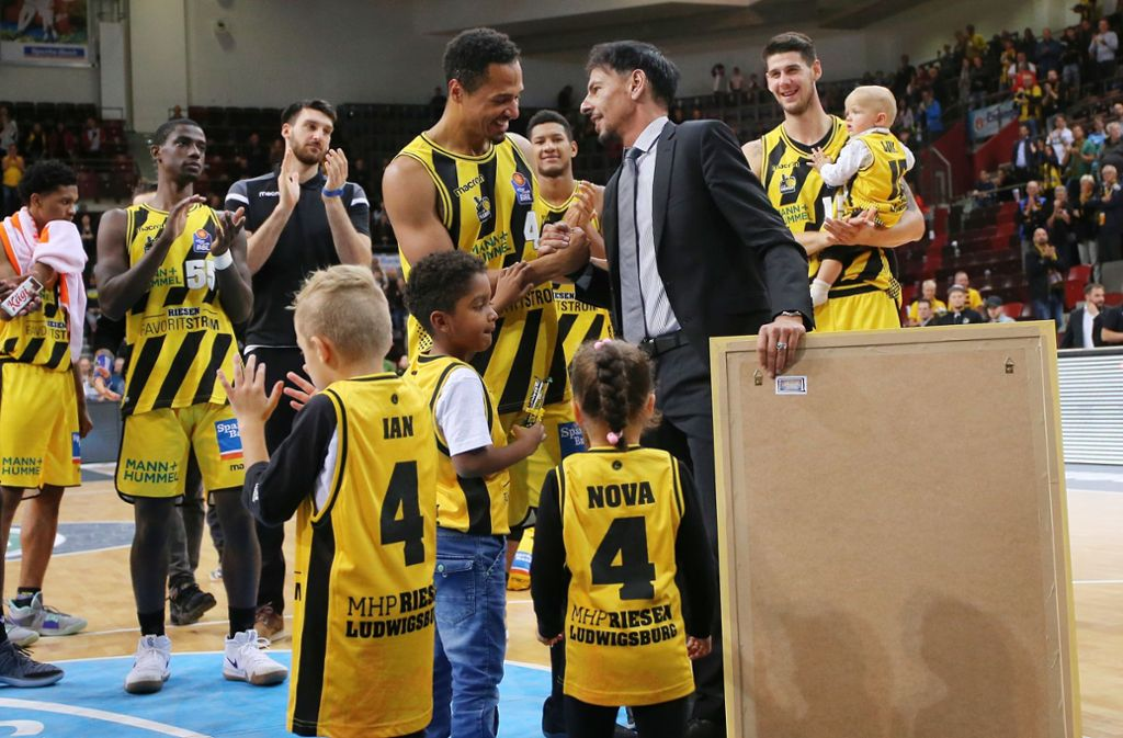 Alexander Reil wird auch nach dieser Saison viele Spieler verabschieden. Foto: Baumann
