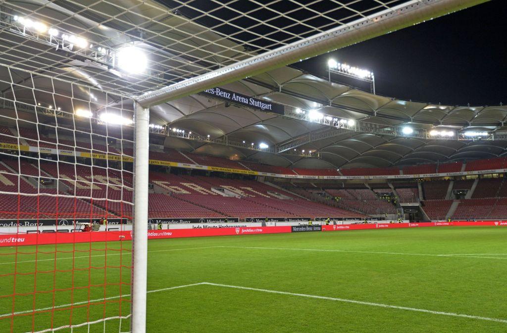 Der VfB Stuttgart wird künftig in der 2. Liga Geisterspiele bestreiten. Foto: imago images/MIS/Bernd Feil