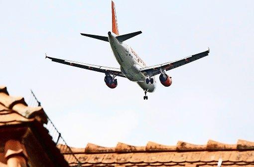 Weniger Lärmbeschwerden am Flughafen