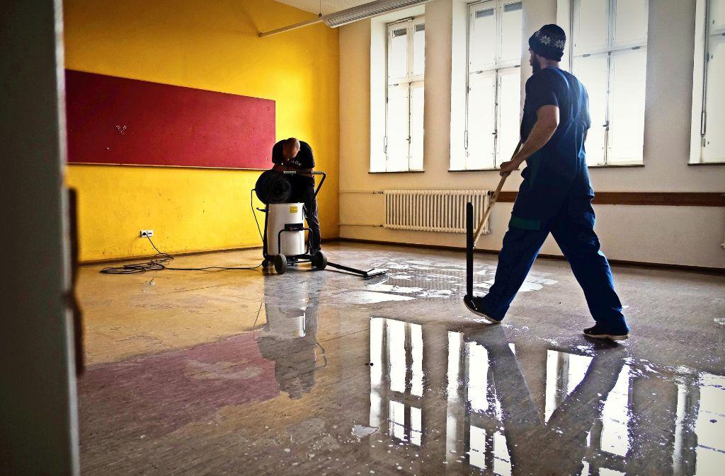Im  Leibniz-Gymnasium wurde in den Sommerferien renoviert. Doch der Sanierungsstau in Stuttgart ist groß. Foto: Lichtgut/Max Kovalenko