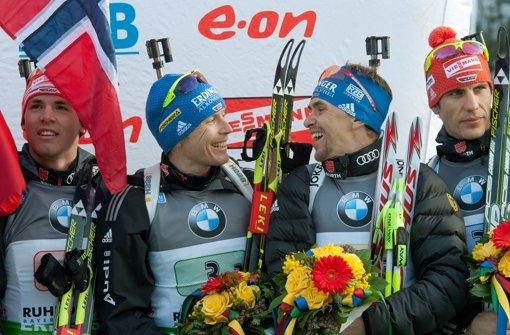 Staffel-Bronze für Deutschland