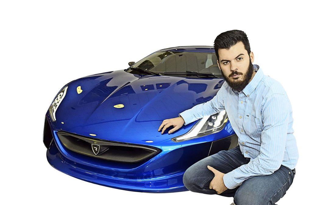 Erfolgreicher Unternehmer in Kroatien:  Mate Rimac Foto: AFP