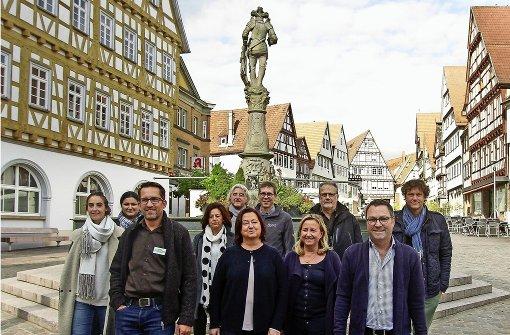 Händler werben für  Altstadt und Parkhaus