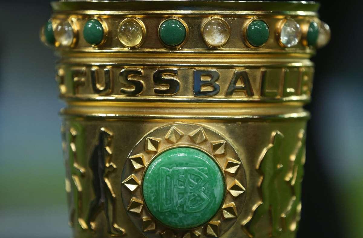 Der VfB Stuttgart trifft in der kommenden DFB-Pokalrunde auf Borussia Mönchengladbach. Foto: dpa/Ina Fassbender