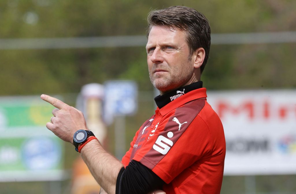 Rico Schmitt wird neuer Trainer beim VfR Aalen. Foto: Pressefoto Baumann