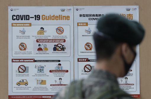Südkorea gesteht sich eine zweite Welle ein