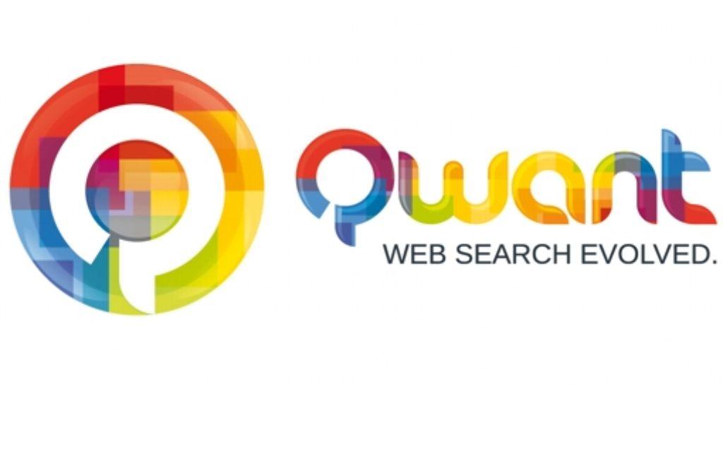 Das farbige Logo der neuen Suchmaschine Foto: dpa/Qwant