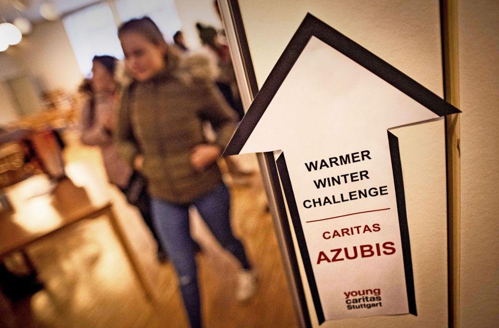 Ungewöhnlicher Wettbewerb:  Spenden sammeln für Obdachlose Foto: Lichtgut/Max Kovalenko