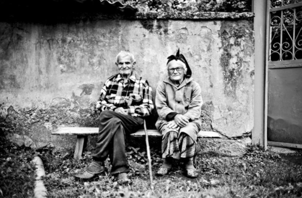 Altes Ehepaar, Georgien Foto: Andreas Reiner