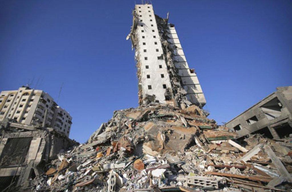 Der Gaza-Krieg hat Zerstörung und Leid hinterlassen. Foto: dpa