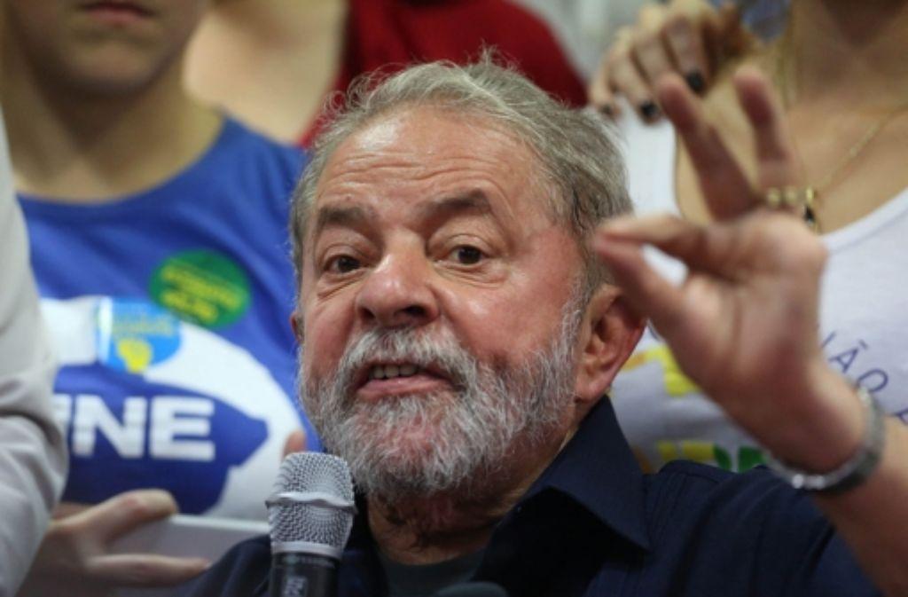 Der frühere Präsident Brasiliens, Luiz Inacio Lula da Silva,  soll unter anderem wegen Geldwäsche angeklagt werden. Foto: EFE