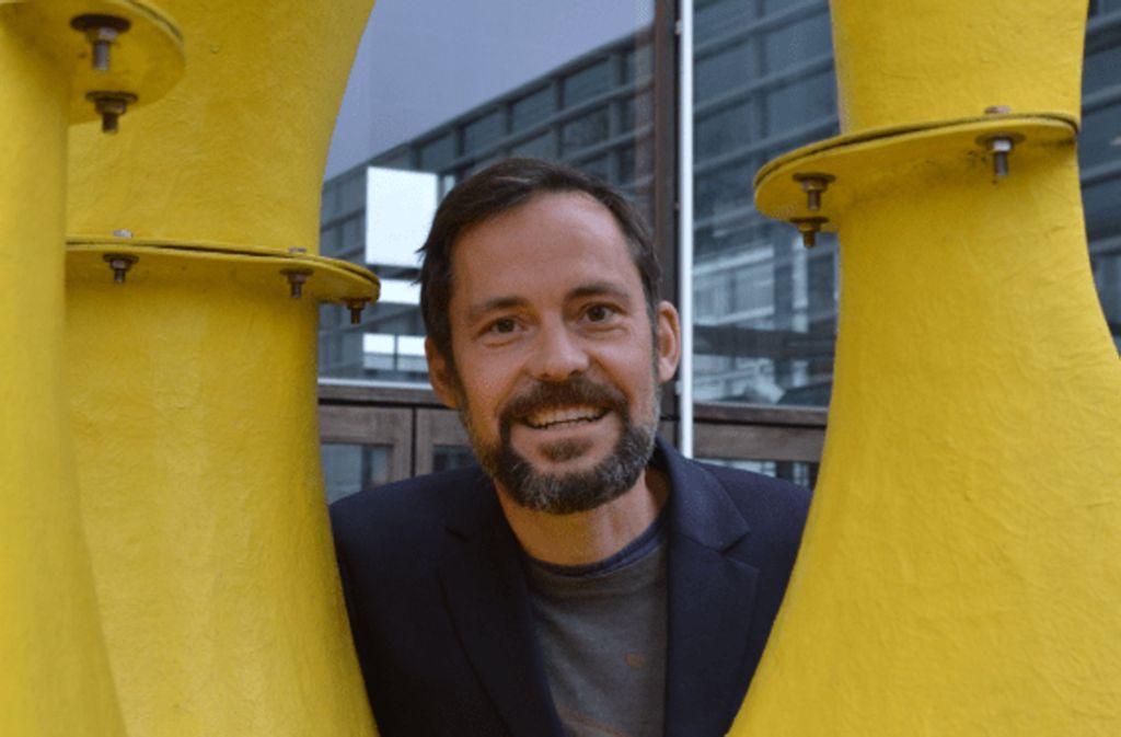 Für den Stuttgarter Architekten Tobias Wallisser gehören beim Bauen Kunst und Technik zusammen. Foto: Roeder