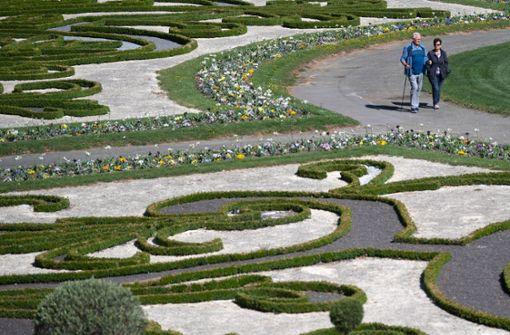 Zwei Drittel weniger Besucher in Schlössern und Gärten