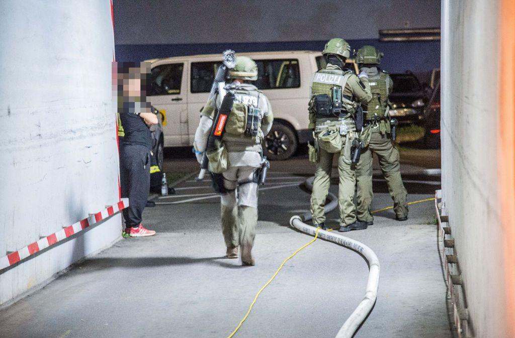 In der Nacht zu Dienstag ist es zu einem SEK-Einsatz in Stuttgart-Ost gekommen. Foto: SDMG