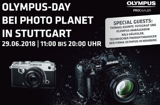 Olympus Day bei Photo Planet in Stuttgart