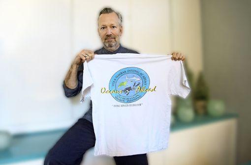 Das T-Shirt vom einstigen Taucherparadies