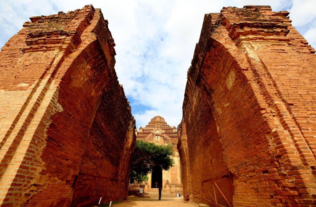 Das Welterbekomitee der Unesco hat Bagan mit seinen mehr als 2000 Tempeln  zum Welterbe erklärt. Foto: imago images / Xinhua/U Aung