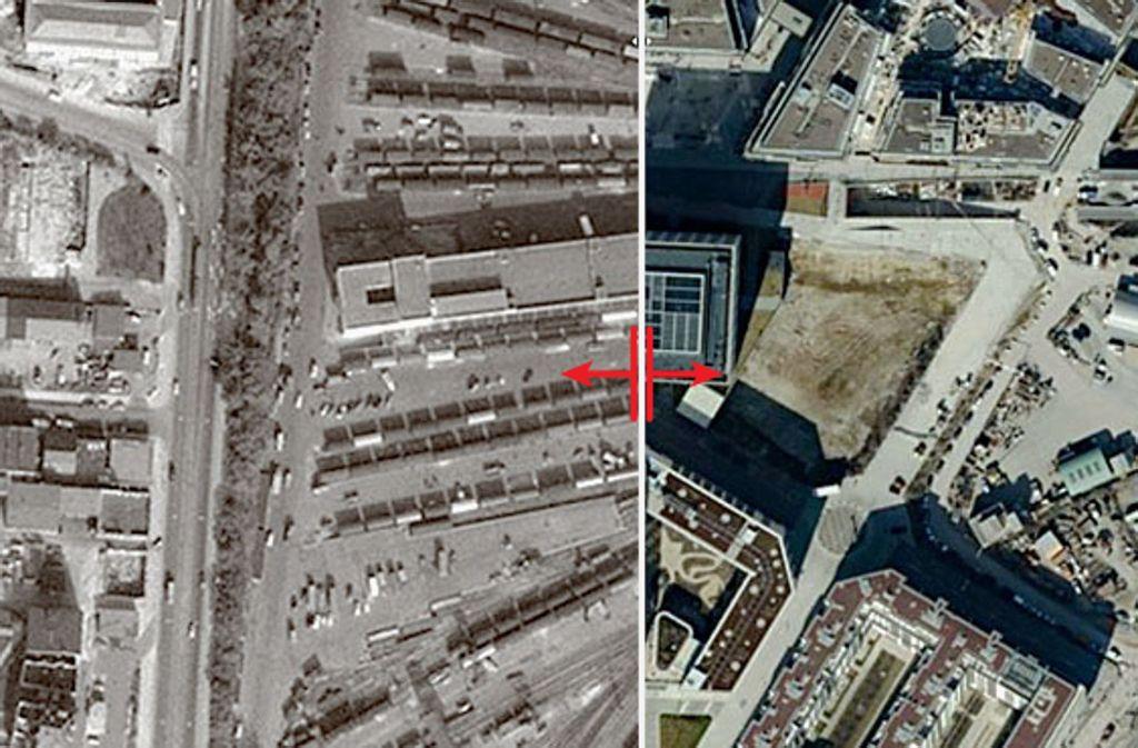 Hier im heutigen Europaviertel rangierten früher Güterzüge. Foto: Lichtgut/Max Kovalenko