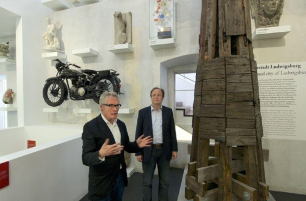 Stolze Bauherren: der Architekt Arno Lederer und Foto: factum/Weise