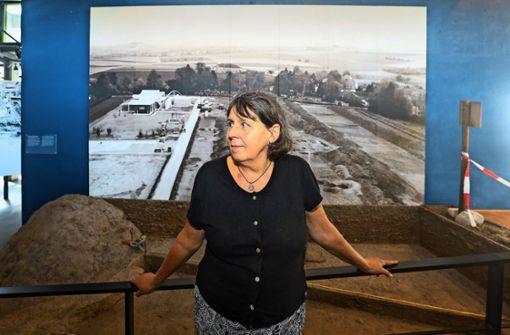 Simone Stork sagt dem Museum Ade