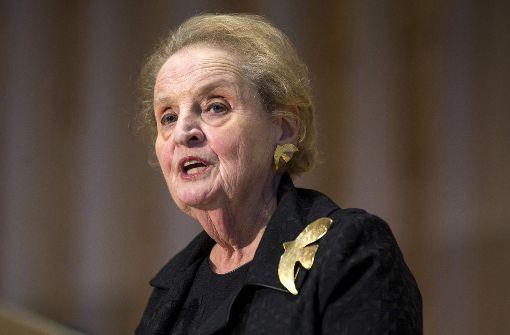"""Die """"Grande Dame"""" der US-Außenpolitik"""
