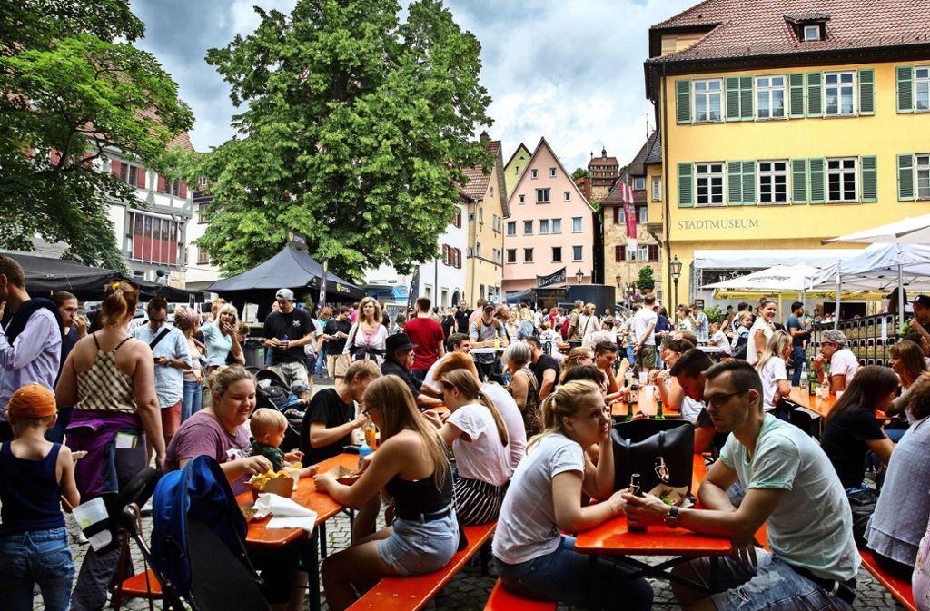 Am Hafenmarkt hat das Street-Food-Festival Station gemacht Foto: