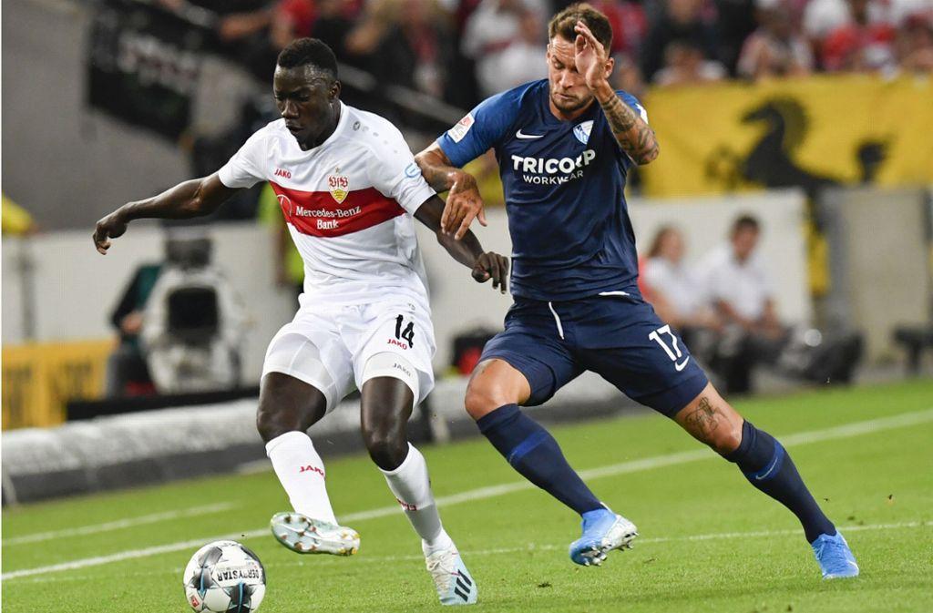 Der teuerste Zugang des VfB Stuttgart in diesem Sommer: Silas Wamangituka (links) Foto: dpa