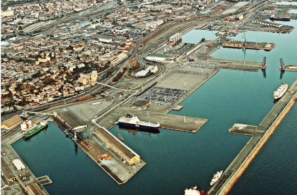 Im Hafen und Marseille ist das neue Umschlagzentrum MIF68 entstanden. Foto: AFP